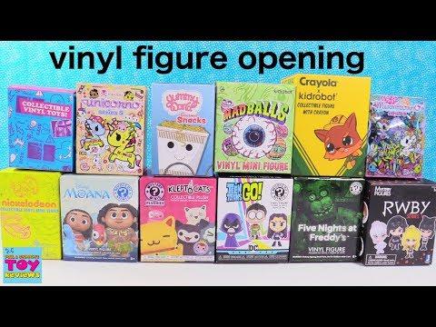 Unicornos Disney BFFS Funko Kidrobot Vinyl Figure Opening Review   PSToyReviews