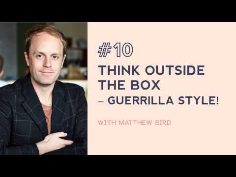 #10: Thinking outside the box with Studiobird's Matthew Bird