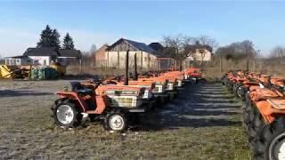 Traktorki japońskie KUBOTA YANMAR ISEKI