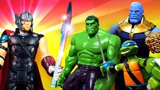 La vie secrète des jouets. L'épée perdue de Thor. Vidéo en français pour enfants.