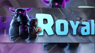 CLASH ROYALE 3D BANNER TEMPLATE || [LINK IN DESC] By JarryS