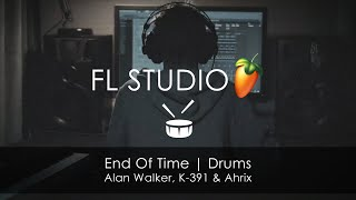 Alan Walker, K-391 & Ahrix | End of Time DRUMS (links in info)
