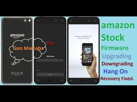 Amazon Fire Phone Flash With Stock Firmware