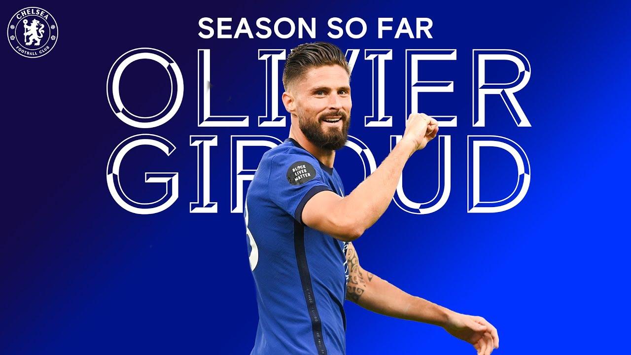 Olivier Giroud Season So Far Chelsea Fc 2019 20 Youtube