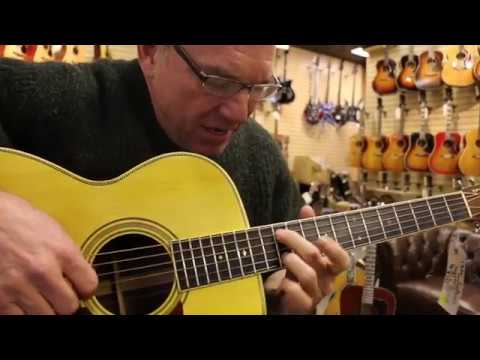 Wade Williams playing our 1936 Martin C2 Conversion here at Norman's Rare Guitars