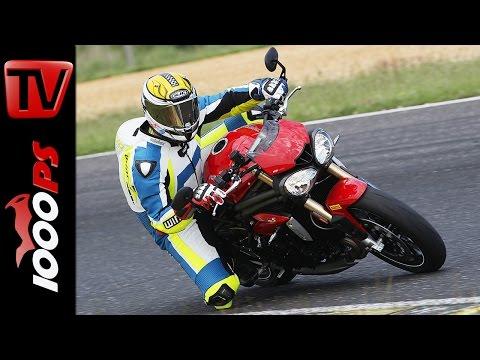 Triumph Speed Triple S | Naked Bike Test Rennstrecke
