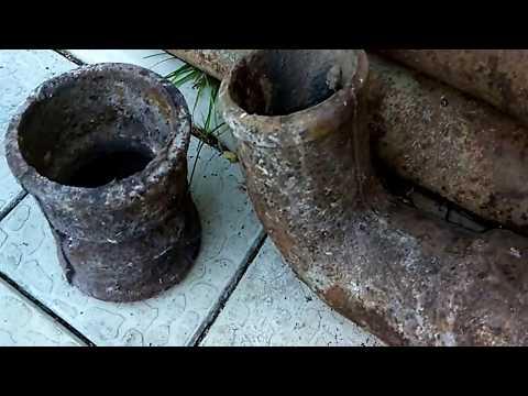 Фитинги для чугунных канализационных труб