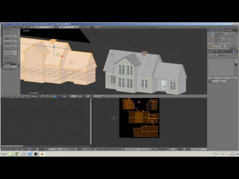 blender 3D tutorial bake diffuse to active object