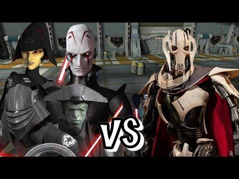 Whos The Greatest Jedi Hunter - Inquisitors Vs Grievous
