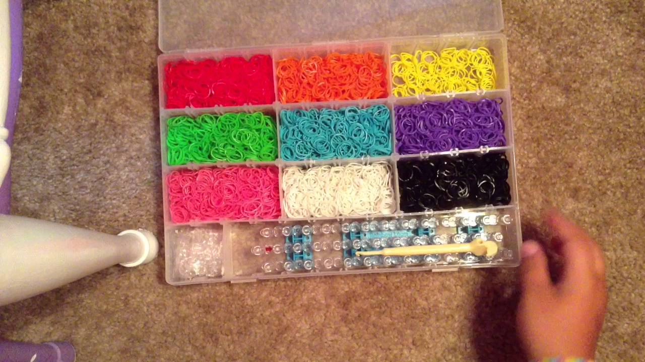 How To Organize Your Rainbow Loom Rubber Bands YouTube