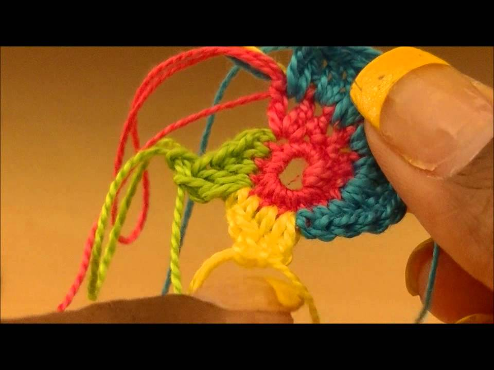 Tutorial Multi Colored Spiral Crochet Earring Youtube