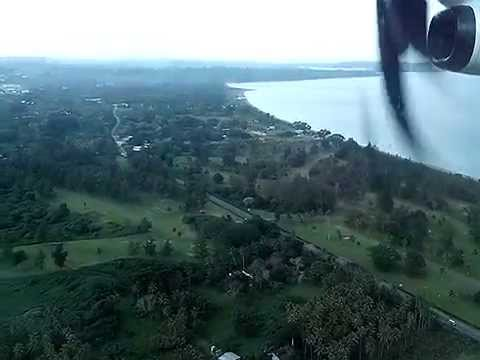 FLYING in Vanuatu | Landing in Port Vila