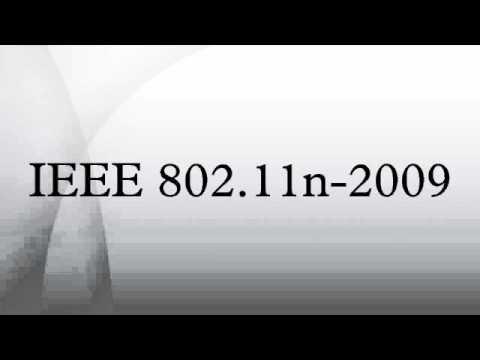 IEEE 802.11n-2009