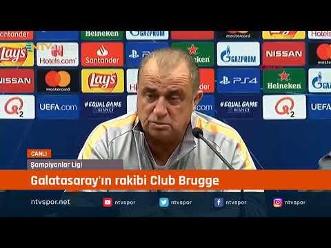 Galatasaray Teknik Direktörü Fatih Terim, Club Brugge Maçı öncesi Soruları Yanıtlıyor