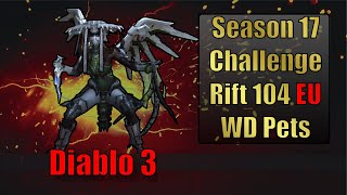 Diablo 3 Challenge Rift 104 Map and Strategy Guide Europe