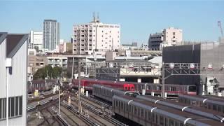 営団地下鉄500形584-734-771(車体整備完了後) 中野車両基地内入換(2)