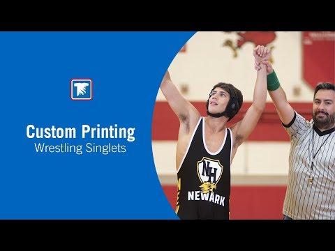 Custom Printing Wrestling Singlets