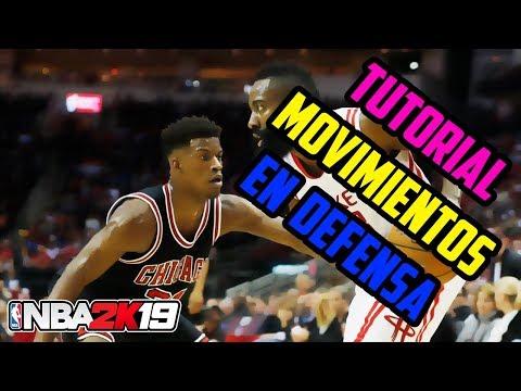 NBA 2K19 | Tutorial Movimientos en Defensa - Tapón, robo, baile rápido y más