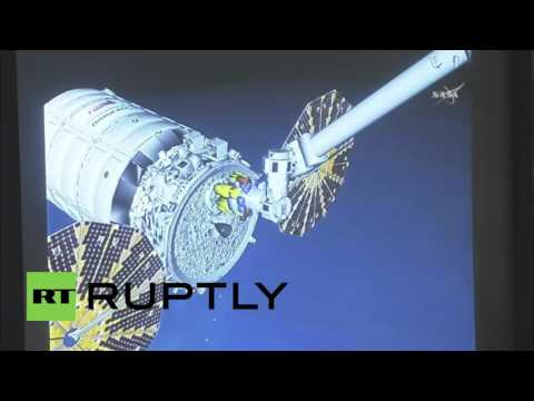 ISS: Unmanned Cygnus CRS-4 cargo spacecraft successfully docks with ISS