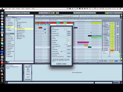 How To Export Stems in Ableton (the easy way)