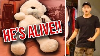 HAUNTED BEAR PRANK ON MY BROTHER!!