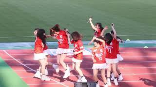2018.4.28 ニンジニアスタジアム 愛媛FCの試合前.