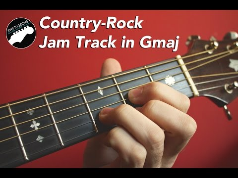 Melodic CountryRock Guitar Backing Track in G Major