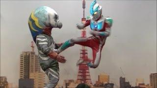 【ガッツ星人vsウルトラマンギンガ】おもしろ、すばらしウルトラマンオリジナルショー⑥ thumbnail