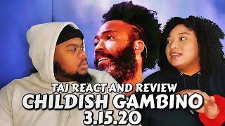 CHILDISH GAMBINO - 3.15.20 FULL ALBUM (TAJ React and Review)