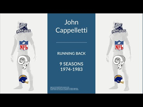 John Cappelletti: Football Running Back