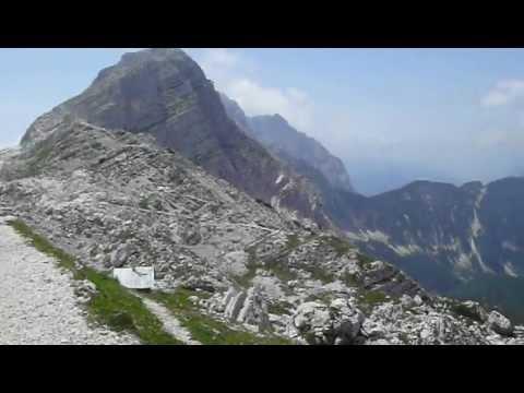 Zasavska koča Prehodavci 2.071m, Julian Alps, Slovenia