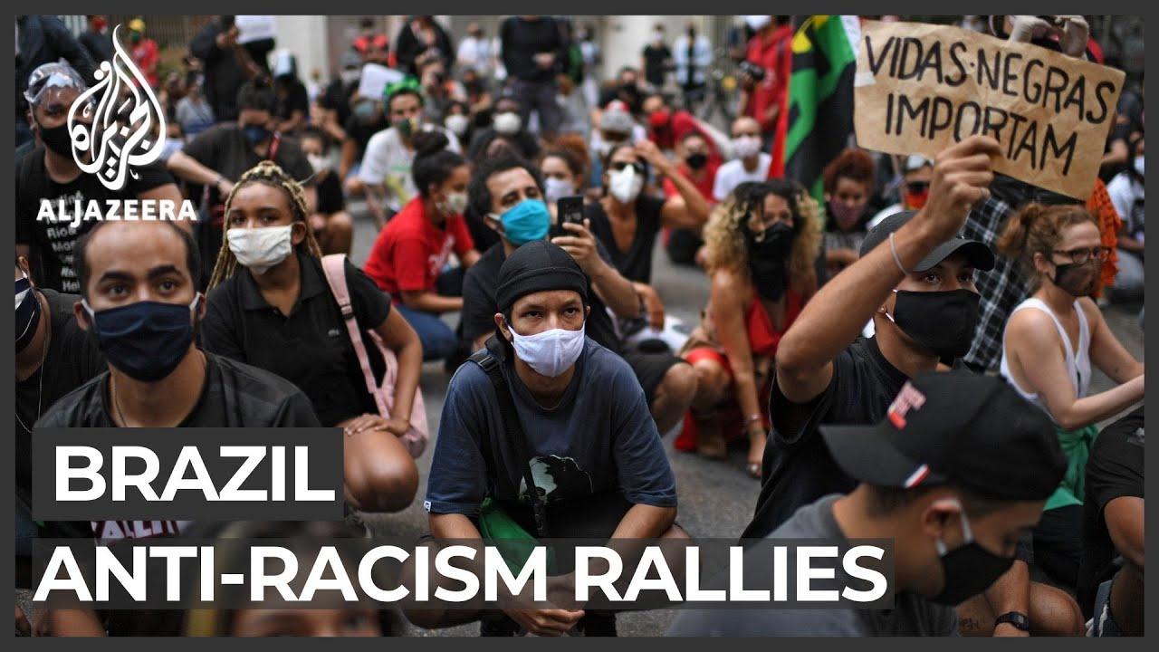 Brazil anti-racism rallies: Protesters blame Bolsonaro in Black genocide
