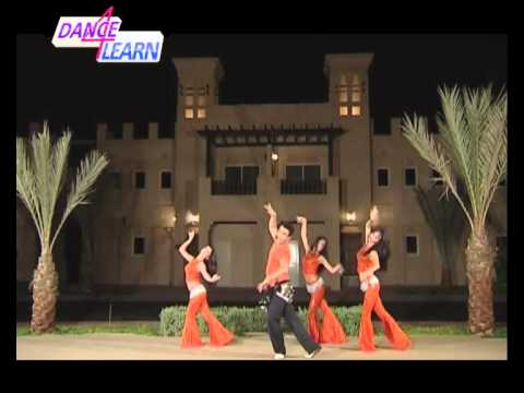 Mix of all Moves in Arabic dance with Mamad Khordadian