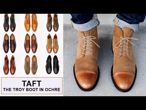 Taft - Troy Boot Unboxing