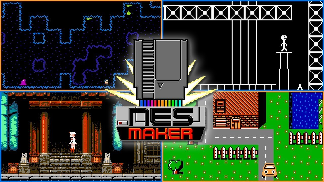 5 More NESmaker Games - WIP, Demos, and More!