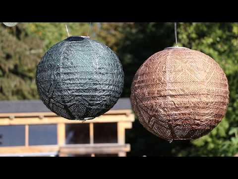 2018 Allsop Home & Garden - Solar Lanterns