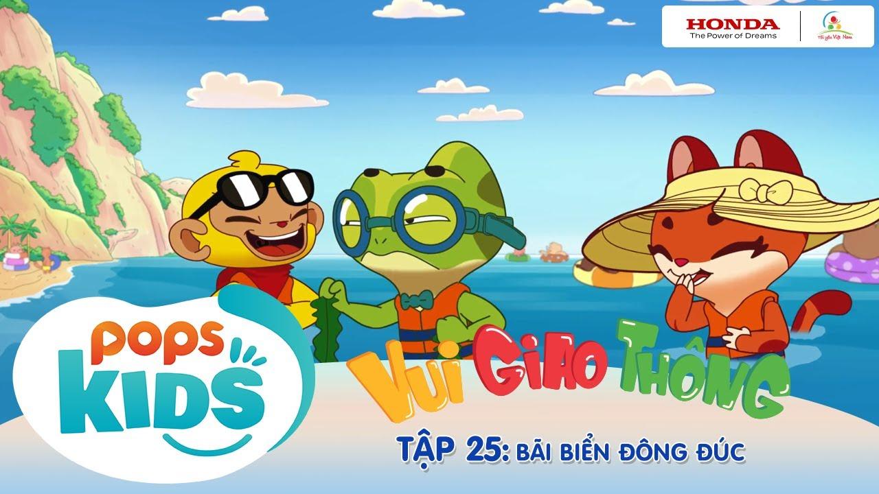"""Tôi yêu Việt Nam """"Vui Giao Thông"""" - Tập 25: Bãi biển đông đúc - Quy tắc khi đi chơi ở biển"""
