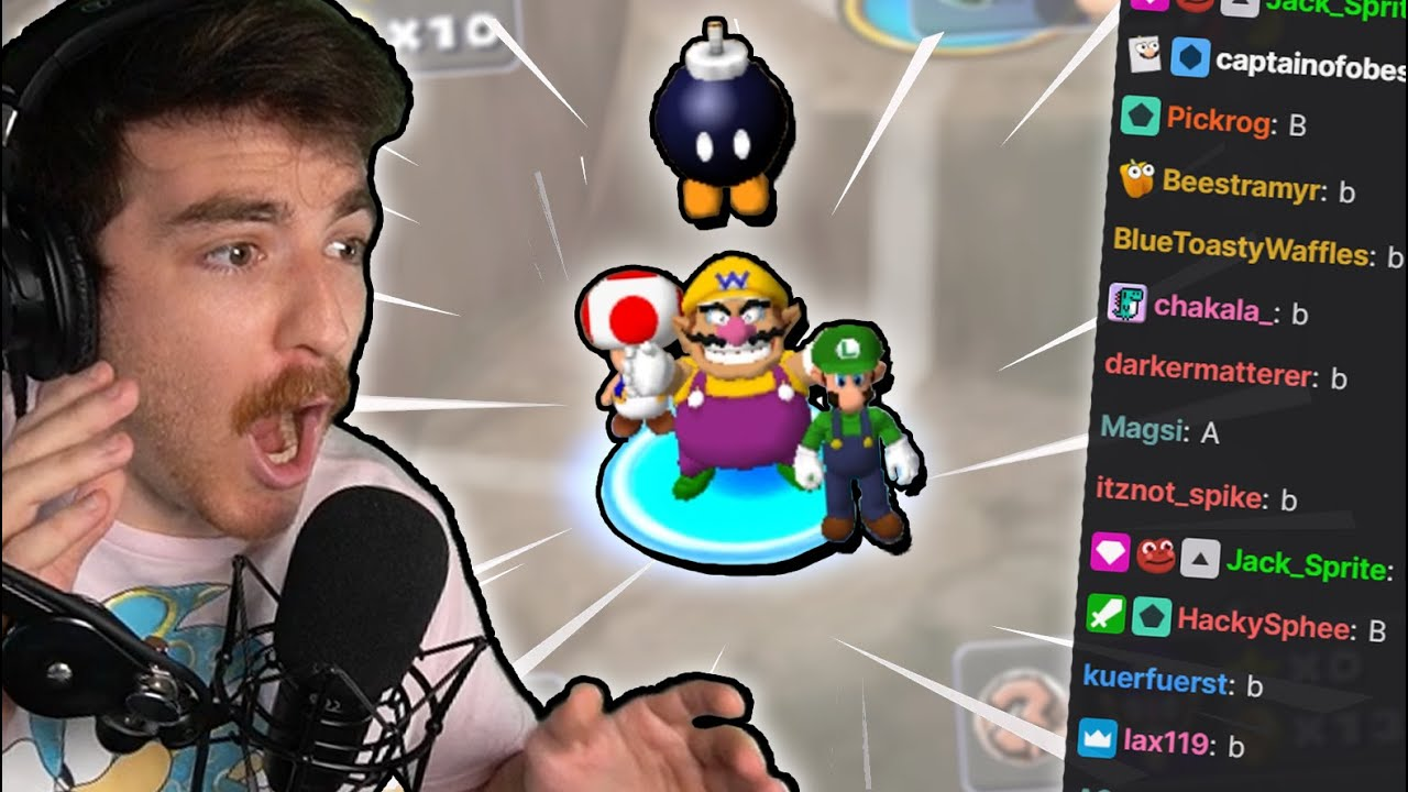 Can I beat MY OWN Twitch Chat in Mario Party 5?!