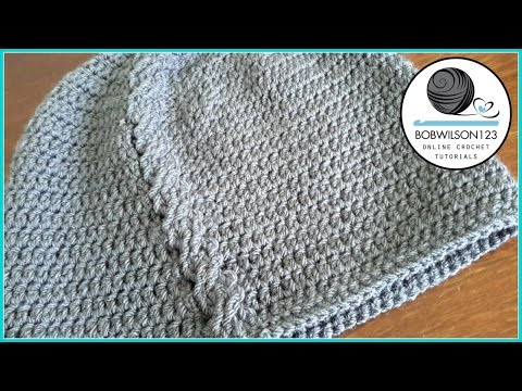 Linda's Cable Stitch Hat Crochet Tutorial