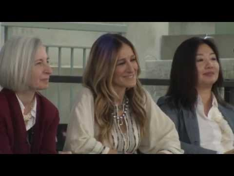 Sarah Jessica Parker speaks at Harvard Law School's 2016 Class Day