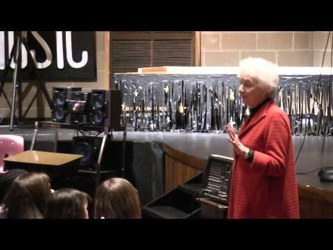 Former Governor Madeleine Kunin Visits Kurn Hattin