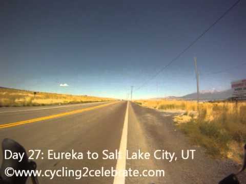 Day 27: Eureka to Salt Lake City, UT (September 25)