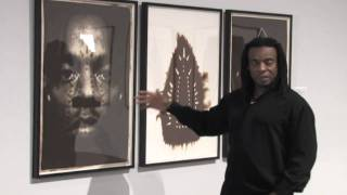 Willie Cole talks about his work Man, Spirit, Mask