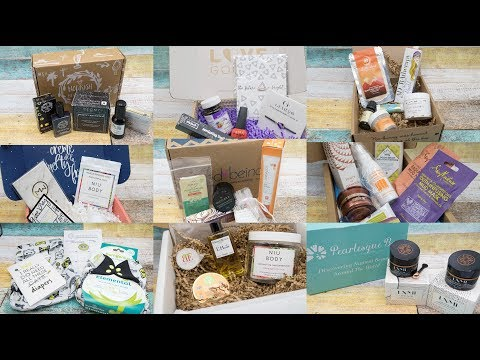 Subscription Box Overview! Vegan Boxes, Green Beauty Boxes, Food Boxes, Even a Cloth Diaper Box!
