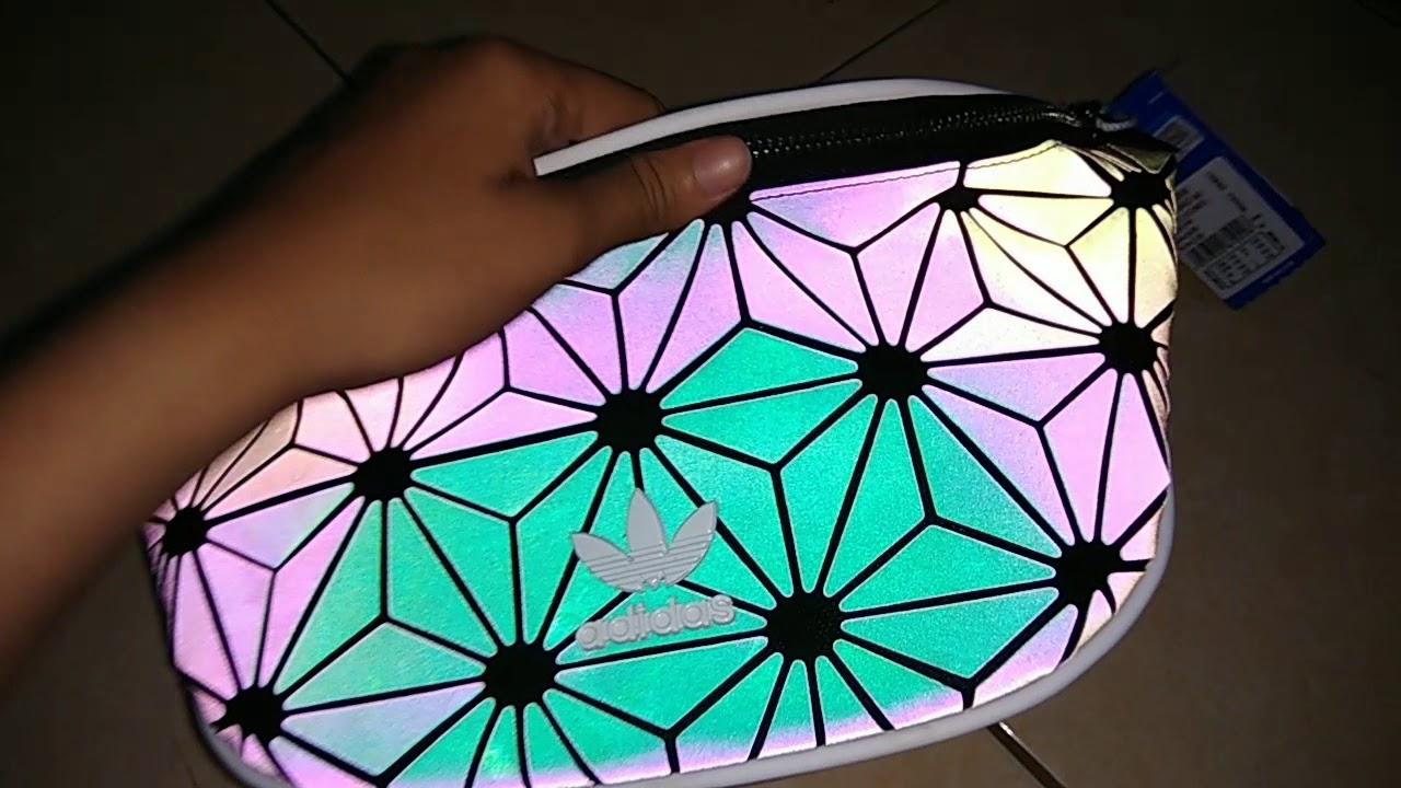 Detail Waist Bag Adidas Issey X Miyake On Flash Handphone Youtube