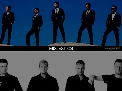 Backstreet Boys - Westlife MIX  2017 Exitos
