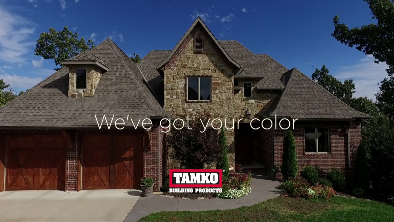 Tamko We Ve Got Your Color Youtube