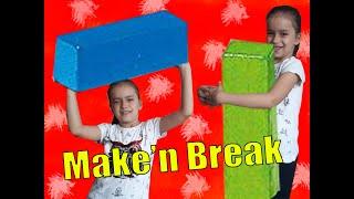 Make'n Break Oynadık / Eğlenceli Çocuk Videosu