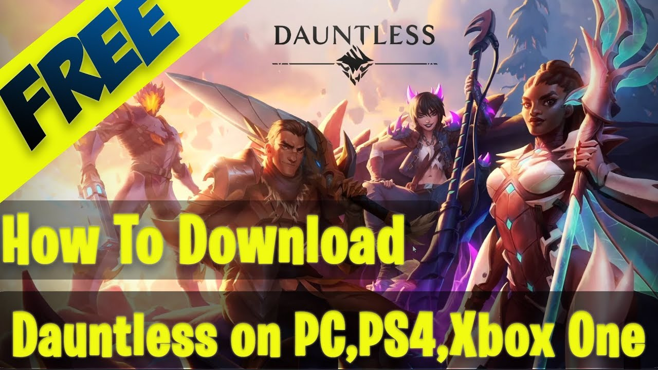 How to Download Dauntless Game I use code= FLASH25YT