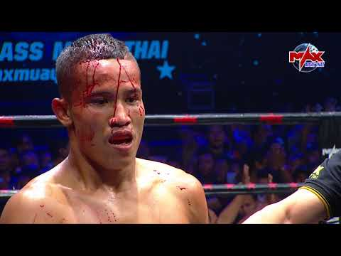 HIGHLIGHT SOOSUEK  VS MUENGLAOS (LAOS)| MAX MUAY THAI